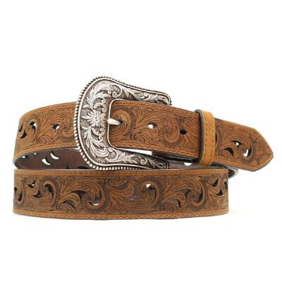 Paisley Scrollwork Ladies Belt