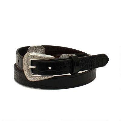 Ariat Reversible Croc Print Ladies Belt