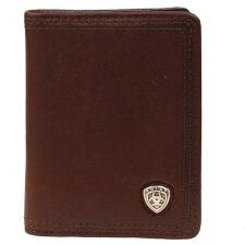 Ariat Bifold Logo Mens Leather Wallet - TB