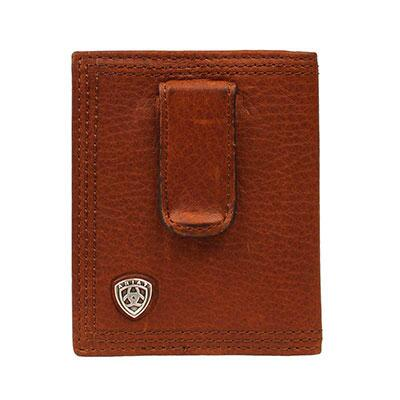 Ariat Shield Clip Bifold Mens Wallet