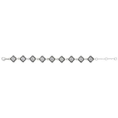 Montana Silversmiths Roped Starlight Bracelet