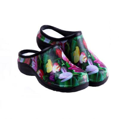 Backdoor Shoes Ladies Tulips Clogs