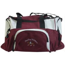 Small Sport Duffle Bag with Text and Small Logo - TB