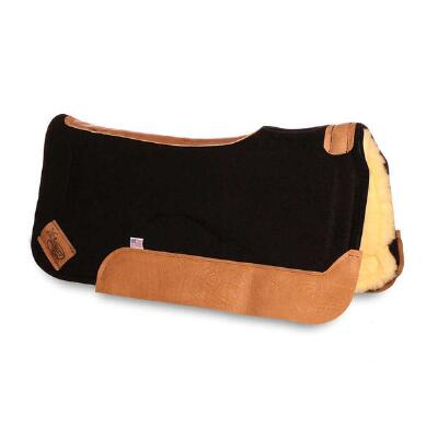 Impact Gel XT Lite Contour Saddle Pad Fleece Bottom