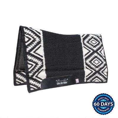 Comfort-Fit SMx HD Air Ride Western Saddle Pad Felt Bottom