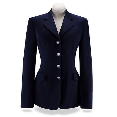 RJ Classics Xtreme Soft Shell Ladies Dressage Coat Navy Blue