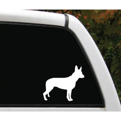 Window Decal 6 in. Dog Logo