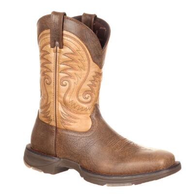Durango Ultra Light Vintage Brown Mens Western Boot