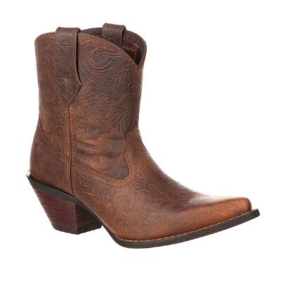 Durango Crush Embossed Ladies Western Bootie