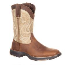 Durango Ultra Light Coffee Latte Ladies Western Boot - TB