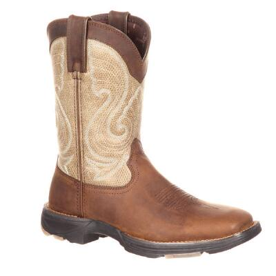 Durango Ultra Light Coffee Latte Ladies Western Boot
