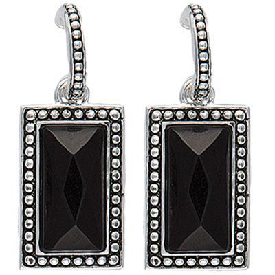 Radiant Night Dangle Earrings