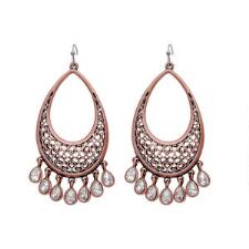 Rock47 Copper Canyon Teardrop Earrings - TB