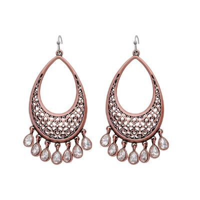 Rock47 Copper Canyon Teardrop Earrings