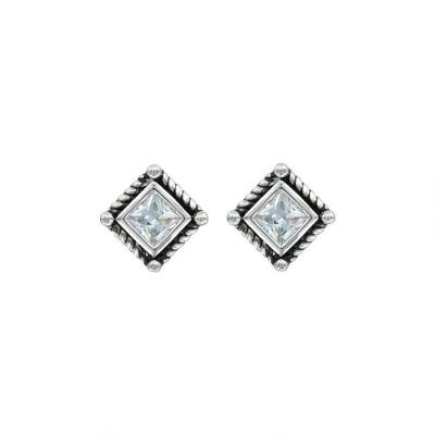 Montana Silversmiths Roped Starlight Earrings