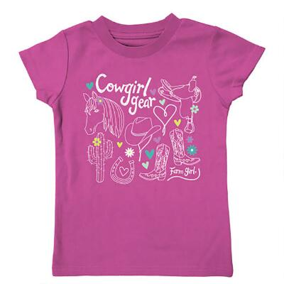 Farm Girl Cowgirl Gear Infant/Toddler Tee