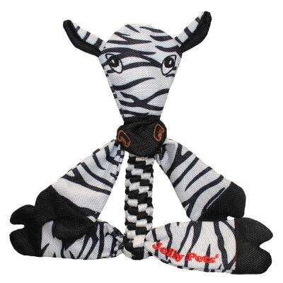 Jolly Pets Flathead Animal Zebra