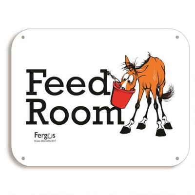 Fergus Feed Room Barn Sign