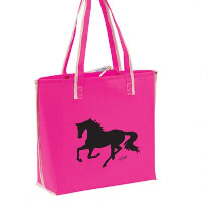 Tote Bag with Galloping Horse