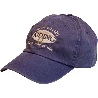 Riding Is Not A Hobby Ladies Baseball Cap