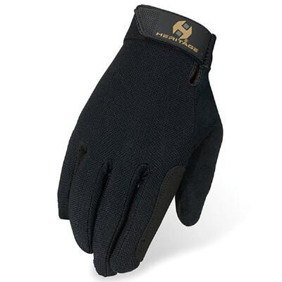 Heritage Summer Trainer Gloves - Black