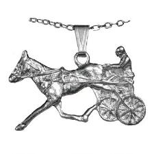 Necklace Standardbred Silver