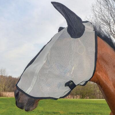 Fly Mask Extended Nose with Ears