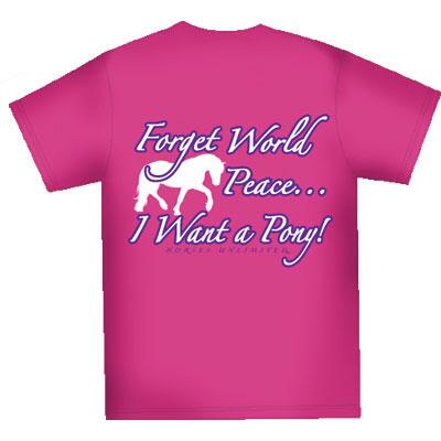 World Peace Girls Tee