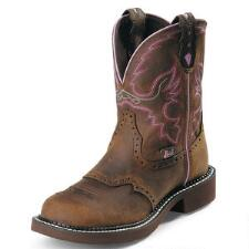 Justin Gypsy Aged Bark Ladies Western Boot