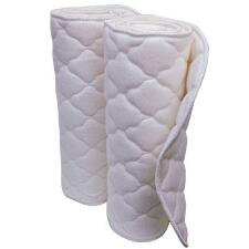 Wilkers No Bow Quilted Horse Leg Wraps Pair - TB