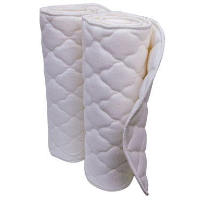 Wilkers No Bow Quilted Horse Leg Wraps Pair