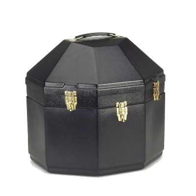 Double Western Hat Carrier Black