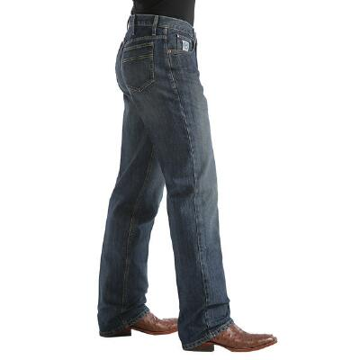 White Label Dark Stonewash Mens Jeans