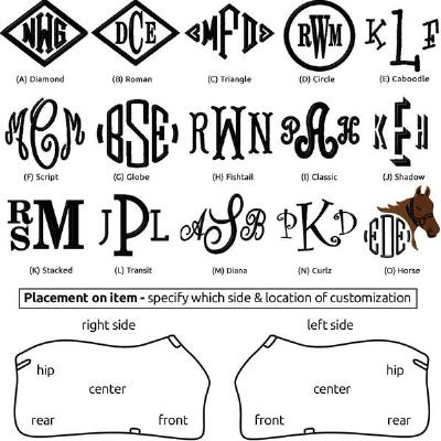 Embroidery Large Monogram