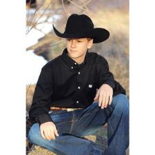Cinch Solid Youth Western Shirt - TB