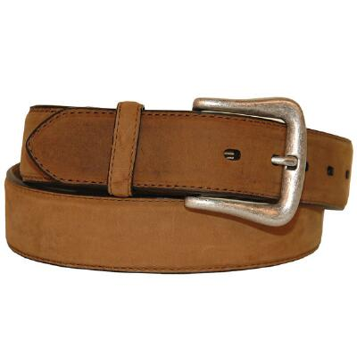 Nocona® Distressed Brown Mens Western Belt