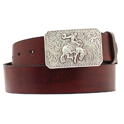 Nonona® Bronc Buckle Mens Belt