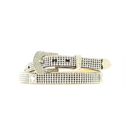 Blazin Roxx Crystal Mesh Ladies Belt