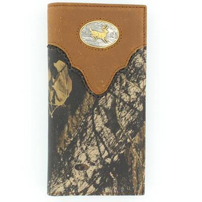 Nocona® Rodeo Mossy Oak Whitetail Mens Wallet