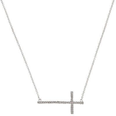 Bright Cross Necklace