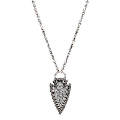 Rock47 Tribal Flair Arrowhead Necklace