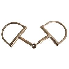 Robart Pinchless Bit Dee Ring Snaffle Hunter 5 in - TB