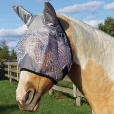Professionals Choice Fly Mask With Ears and UV Protection - TB