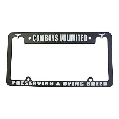 Cowboys Unlimited A Dying Breed License Plate Frame