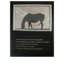Loreice Designs Memorial Picture Frame Plaque - TB