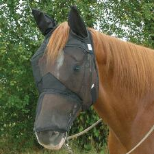 Fly Mask Quiet Ride Long Nose With Ears