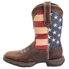 Durango Lady Rebel Patriotic Ladies Western Boot - TB