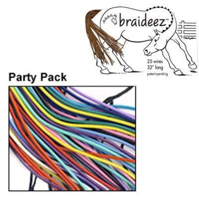 Braideez Braiding Wire Bright Colors