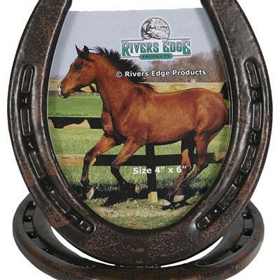 Horseshoe 4 x 6 Picture Frame
