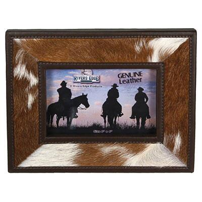 Cowhide 4 x 6 Picture Frame